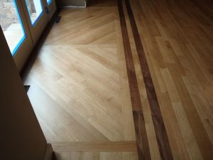new installed hardwood floors